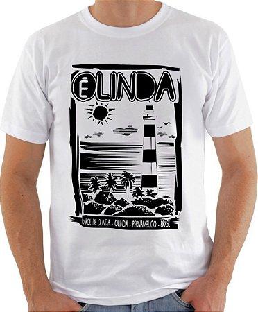 Camiseta OLINDA É LINDA - BRANCA