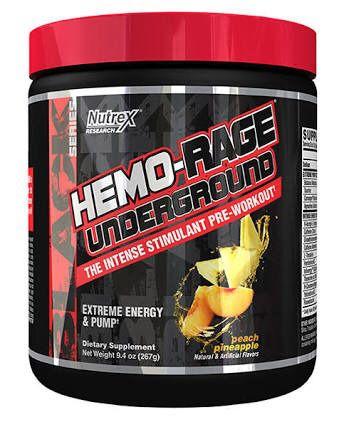 Hemo Rage Black Underground 30 doses