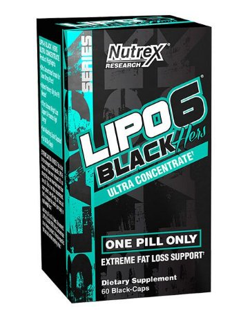 LIPO HERS   BLACK-ULTRA  CONCENTRADO   (60 CAPSULAS)   NUTREX