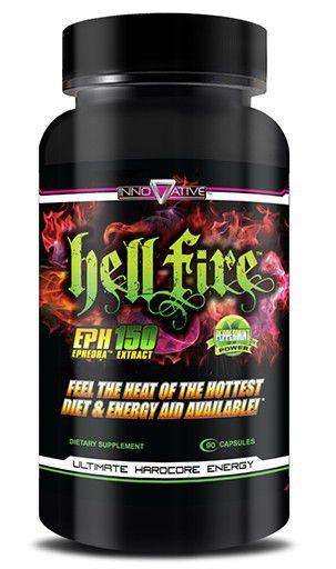 Hell Fire 90 cápsulas - Innovate Labs (Importado)