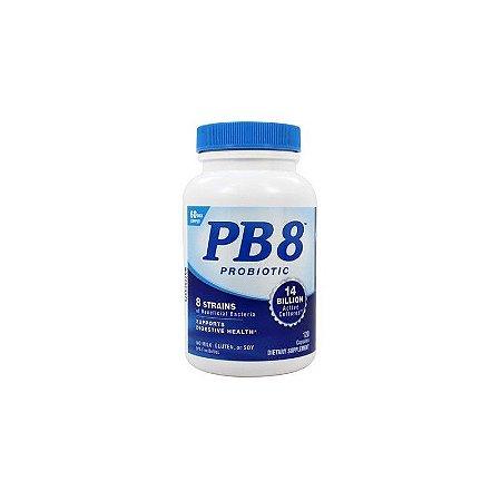 PB8 Probiótico Acidófilo 120 Cápsulas - Nutrition Now