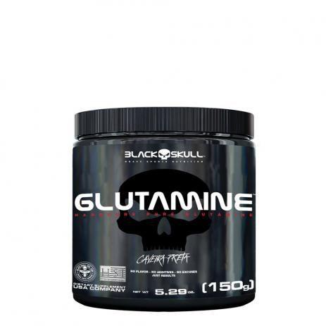 Glutamine 150g - Black Skull