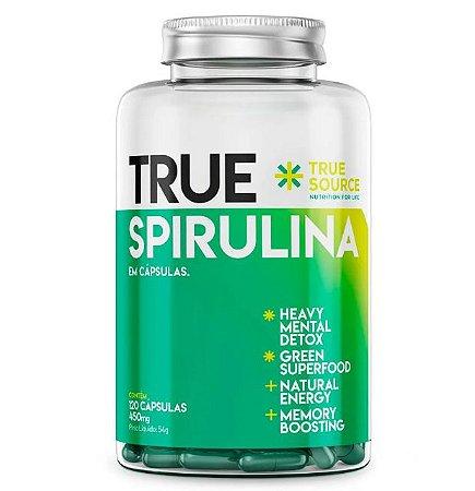Spirulina 450mg 120 cápsulas - True Source