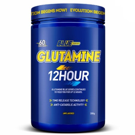 Glutamine 12 HOUR 300g - Blue Series