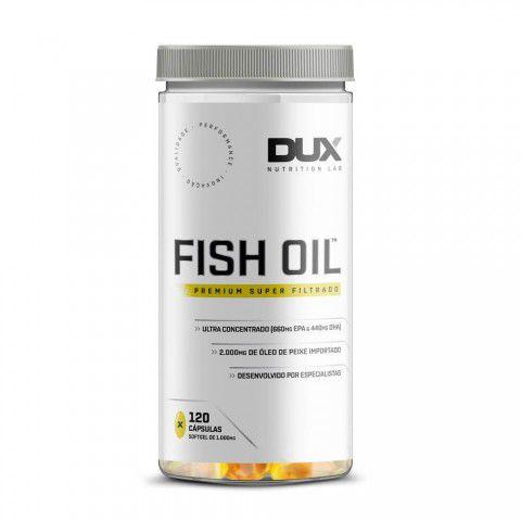 Fish Oil (120 Cápsulas) - Dux Nutrition