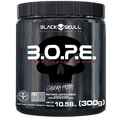 Pré Treino BOPE 300g - Black Skull