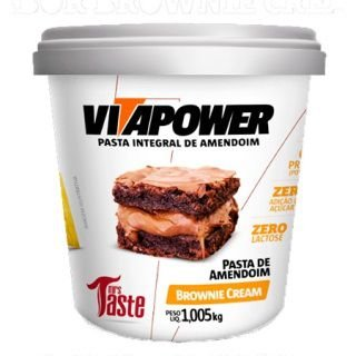Pasta de Amendoim Vitapower 1kg - Mrs Taste