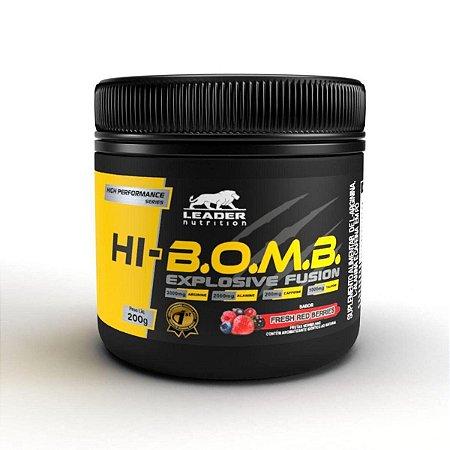 Pré Treino Hi-Bomb 200g - Leader Nutrition