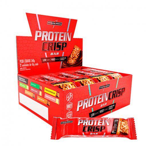 CAIXA Protein Crisp Bar 12 unidades - Integralmedica