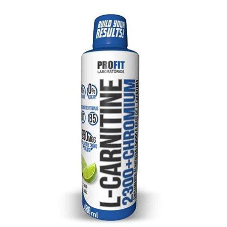 Carnitina 2300 + Chromium 480ml - Profit