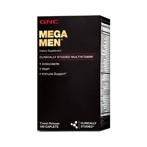 Mega Men 180 Cápsulas - GNC