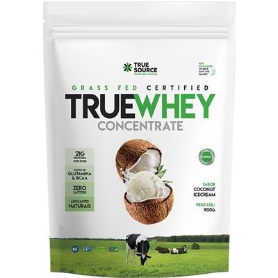 True Whey Zero Lactose Concentrado 900g - True Source