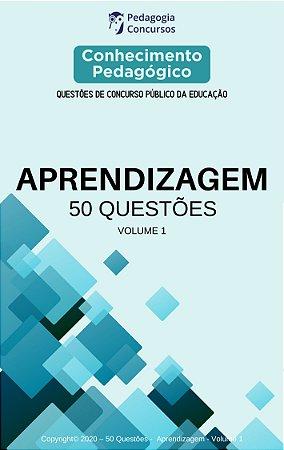 50 Questões sobre Aprendizagem - Volume 1