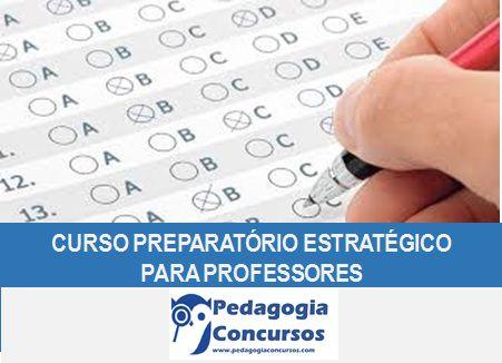 Curso Preparatório Estratégico para Professores