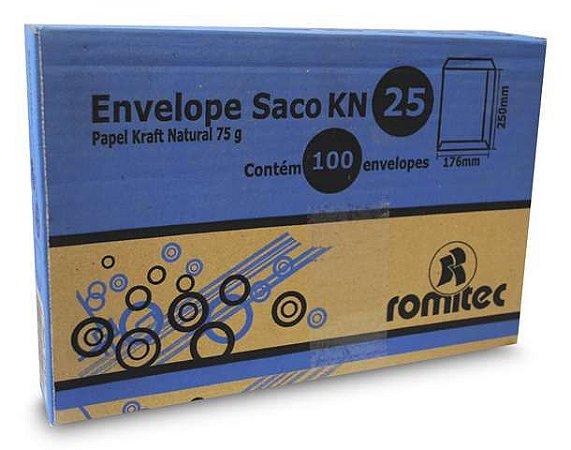 ENVELOPE SACO KFT25 176X250MM C/100