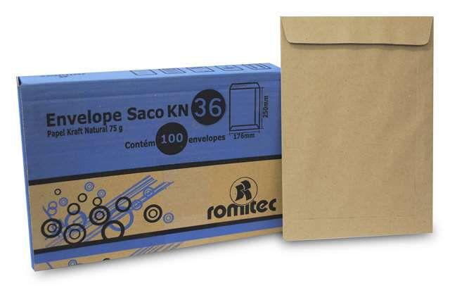 ENVELOPE SACO KFT36 250X353MM C/100