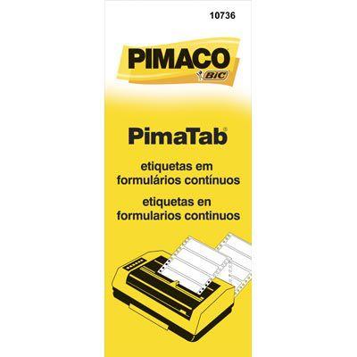 ETIQUETA FORMULARIO 1C 107X36 PIMACO C/4.000 ETIQ