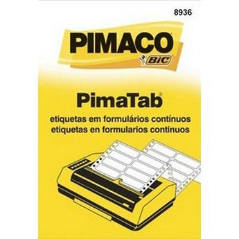 ETIQUETA FORMULARIO 2C 89X36 PIMACO