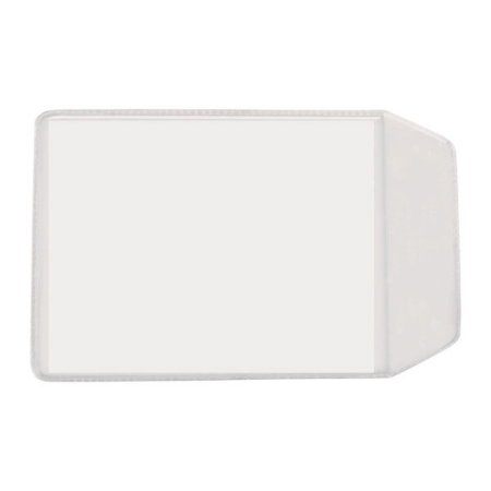 PORTA DOC PVC CRISTAL RG/TITULO 100X75MM C/50