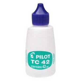 TINTA CARIMBO 42ML AZUL PILOT TC42