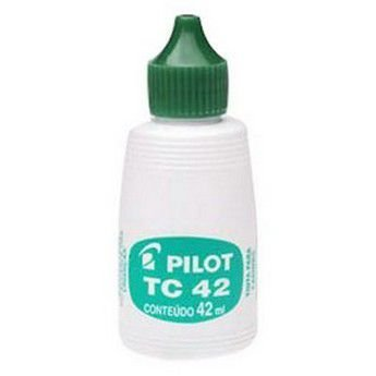 TINTA PARA CARIMBO 42ML PILOT TC42 - VERDE