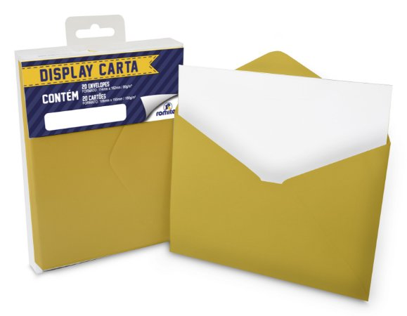 DISP CARTA SIMPLES 20+20 CM GEMA
