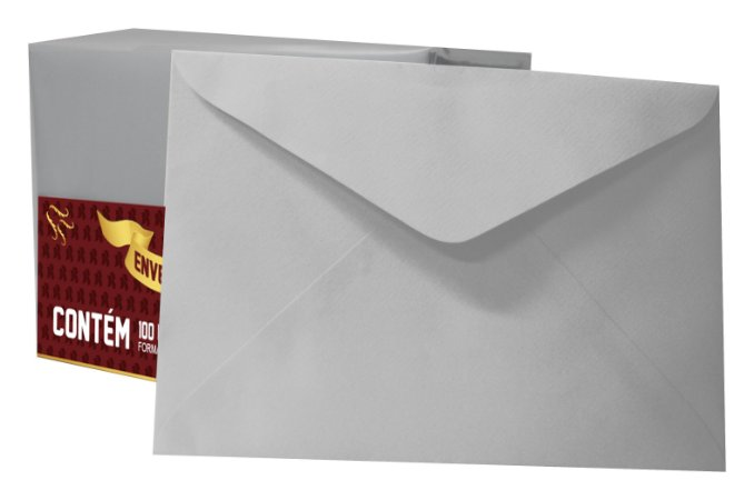 ENVELOPE CARTA 80G C/100 CM VG DIAMANTE