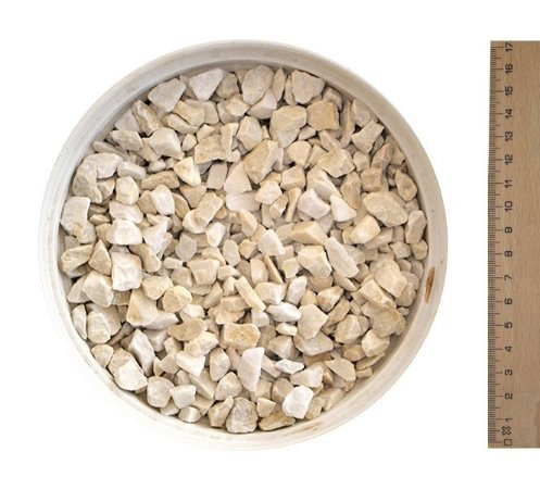 Pedrisco Bege Palha N º2  (40 kg)