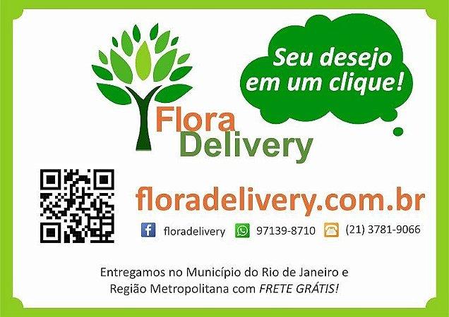 Entregas somente no Município do Rio de Janeiro e Região Metropolitana