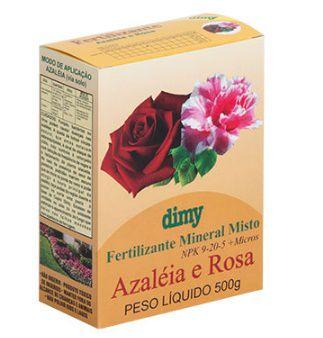 Fertilizante Azaleia e Rosa (500 g)