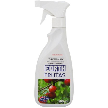 Fertilizante Frutas 500ml  pulverizador