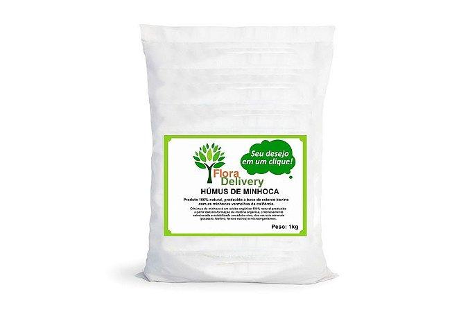 Húmus de minhoca Flora Delivery 1kg