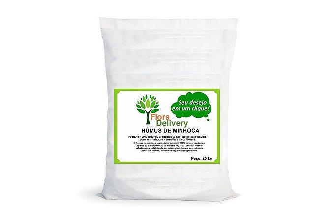 Húmus de minhoca Flora Delivery 20 kg