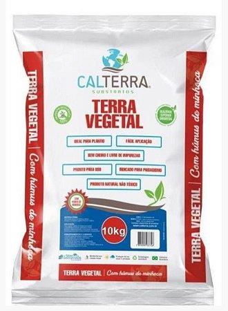 Terra Vegetal com húmus de minhoca 10 kg