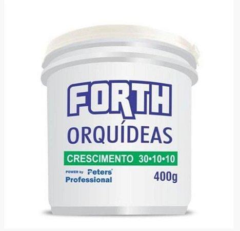 Fertilizante Forth Orquídeas Crescimento 30-10-10 - 400 g