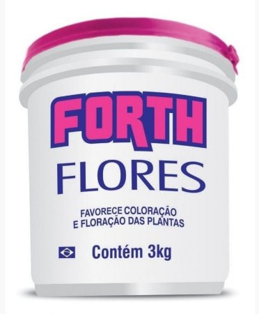 Fertilizante Forth Flores - 3 kg