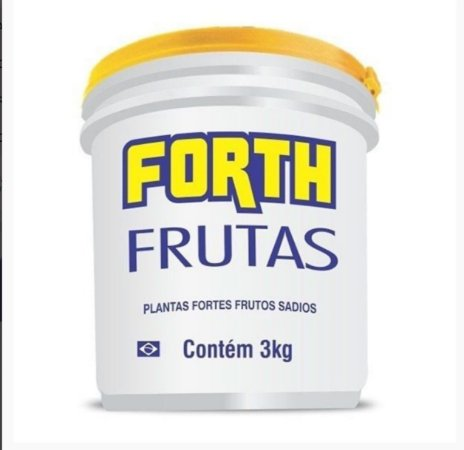 Fertilizante Forth Frutas - 3 kg