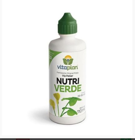 Fertilizante Líquido Nutriverde 06-06-08 - 110 ml