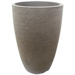 Vaso Cônico Moderno 38 Cimento