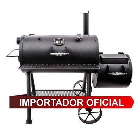 OKLAHOMA HIGHLAND REVERSE SMOKER - Churrasqueira a Carvão - Defumador