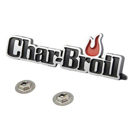Logo Char-Broil para tampa de churrasqueira
