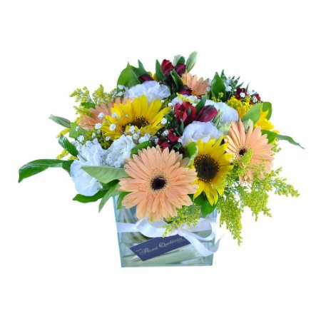 Bouquet Terrier Flores Finas