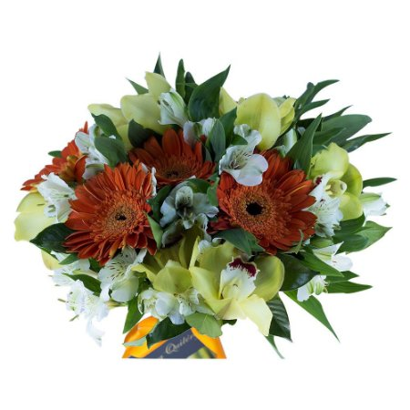 Buque de noiva mix Gerberas