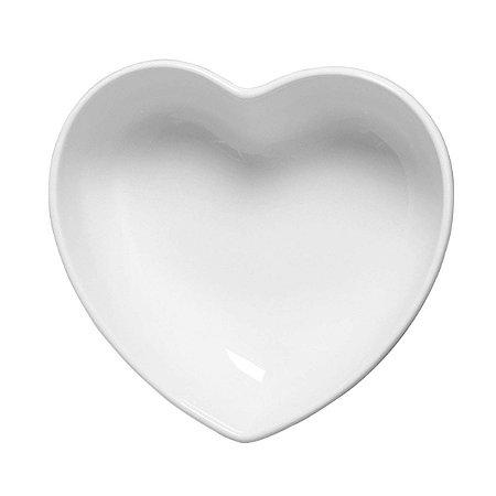 Tigela coração Branca (18,5x18cm)