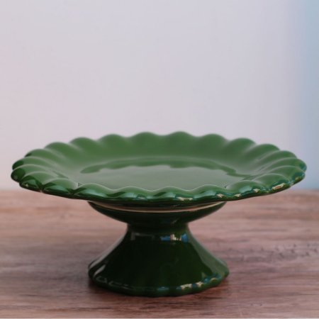 Boleira babado - Verde Escuro