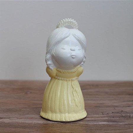 Anjinha - Vestido amarelo