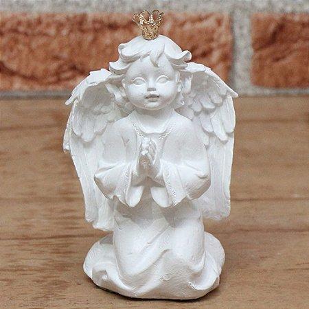 Anjo ajoelhado - branco