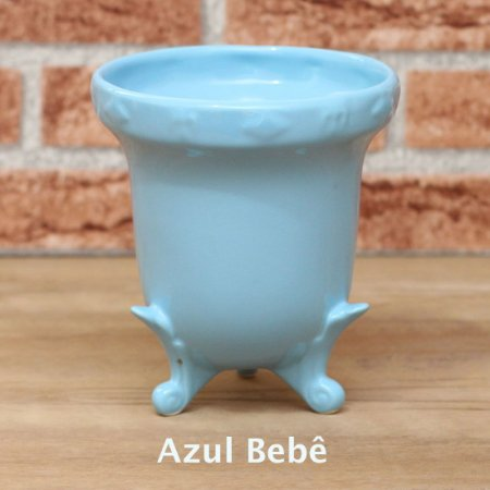 Vaso Realeza - Azul Bebê