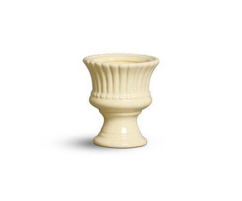 Vaso Mini amarelo algodão doce