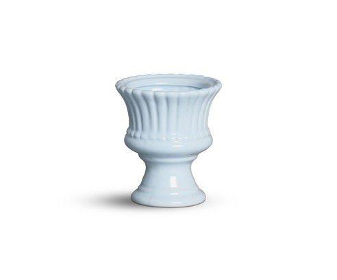 Vaso mini azul algodão doce